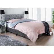 Ariana Velvet Double Bed