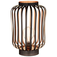 Copper & BLack LED Lantern