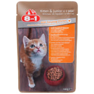 8-in-1 Kitten Food Pouch 100g - Chicken