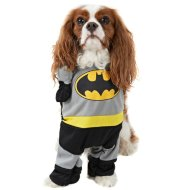DC Comics Dog Fancy Dress Costume - Batman