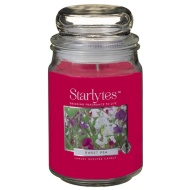 Starlytes 16oz Jar Candle - Sweet Pea