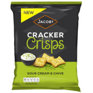 Jacob's Cracker Crisps Sour Cream & Chive 150g