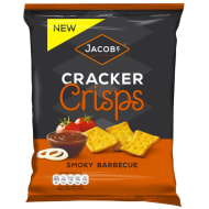 Jacob's Cracker Crisps Smoky Barbecue 150g