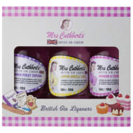 Mrs Cuthbert's British Gin Liqueurs Gift Set