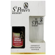 St Peter's Brewery Craft Cider & Glass Gift Set