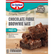 Dr. Oetker Chocolate Fudge Brownie Mix