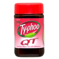 Typhoo QT Instant Black Tea with Whitener 125g