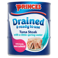 Princes Drained Tuna Steak in Spring Water 3 x 110g