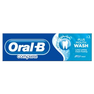 Oral-B Complete Toothpaste Plus Mouthwash
