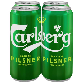 Carlsberg Lager 4 x 500ml Can