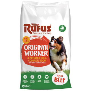 Webbox Rufus Complete Worker With Beef 15kg
