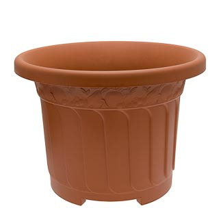 Woodland Fern Design Round Planter 45cm