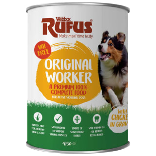 Webbox Rufus Complete Worker Can with Chicken in Gravy 415g