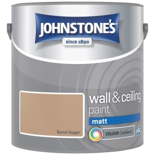 Johnstone's Paint Vinyl Matt Emulsion - Burnt Sugar 2.5L