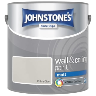 Johnstone's Paint Vinyl Matt Emulsion - China Clay 2.5L