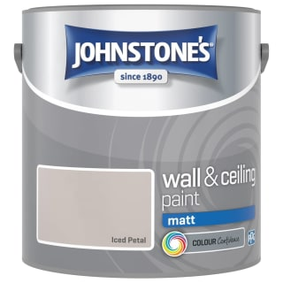 Johnstone's Paint Vinyl Matt Emulsion - Iced Petal 2.5L