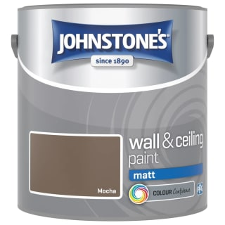 Johnstone's Paint Vinyl Matt Emulsion - Mocha 2.5L