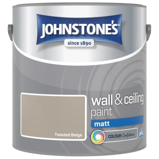 Johnstone's Paint Vinyl Matt Emulsion - Toasted Beige 2.5L
