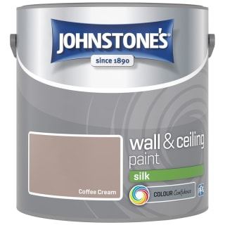 Johnstone's Paint Vinyl Silk Emulsion - Coffee Cream 2.5L