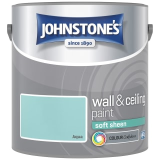 Johnstone's Paint Vinyl Soft Sheen Emulsion - Aqua 2.5L