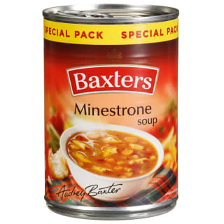 Baxters Minestrone Soup 380g