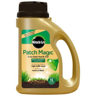 Miracle-Gro Patch Magic Grass Seed, Feed & Coir 1.1kg