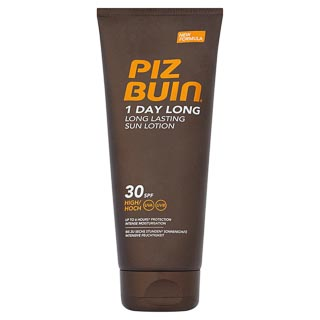Piz Buin 1 Day Long Sun Lotion Factor 30 200ml