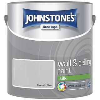 Johnstone's Paint Vinyl Silk Emulsion - Moonlit Sky 2.5L