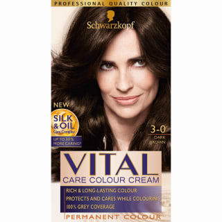 Schwarzkopf Vital Colour Cream - Dark Brown