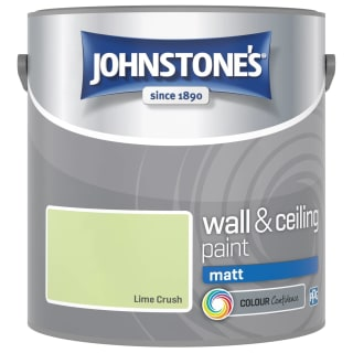 Johnstone's Paint Vinyl Matt Emulsion - Lime Crush 2.5L