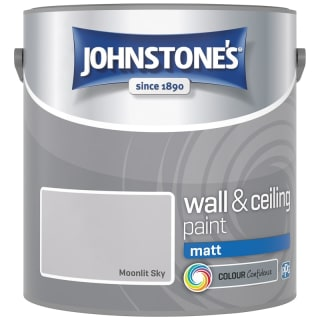 Johnstone's Paint Vinyl Matt Emulsion - Moonlit Sky 2.5L
