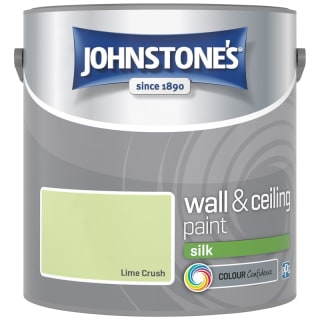 Johnstone's Paint Vinyl Silk Emulsion - Lime Crush 2.5L