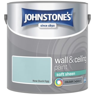 Johnstone's Paint Vinyl Soft Sheen Emulsion - New Duck Egg 2.5L