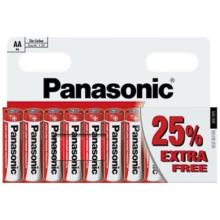 Panasonic AA Batteries 10pk