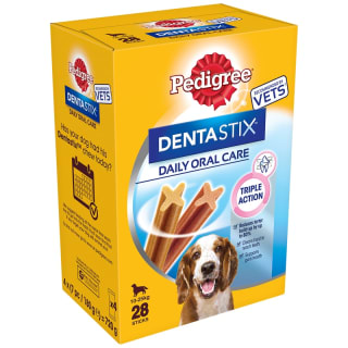 Pedigree Dentastix 28pk - Medium Dog