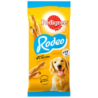 Pedigree Rodeo Dog Chew with Chicken 7pk
