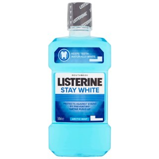Listerine Stay White Arctic Mint Mouthwash 500ml