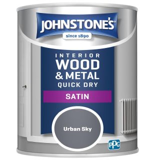 Johnstone's Quick Dry Satin Paint 750ml - Urban Sky