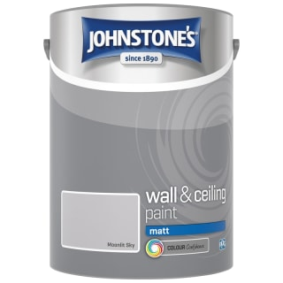 Johnstone's Paint Vinyl Matt Emulsion - Moonlit Sky 5L