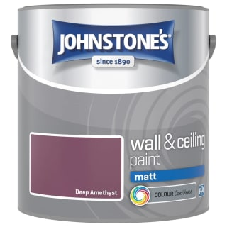 Johnstone's Paint Vinyl Matt Emulsion - Deep Amethyst 2.5L