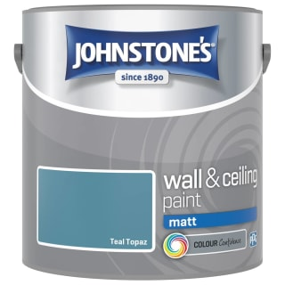 Johnstone's Paint Vinyl Matt Emulsion - Teal Topaz 2.5L