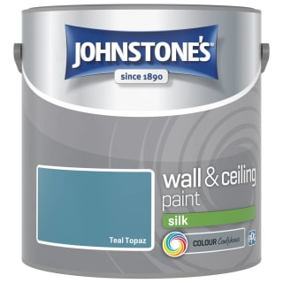 Johnstone's Paint Vinyl Silk Emulsion - Teal Topaz 2.5L