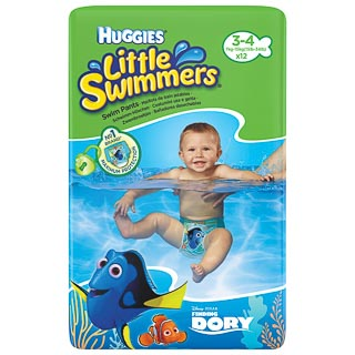 Huggies Little Swimmers Swim Nappies 12pk
