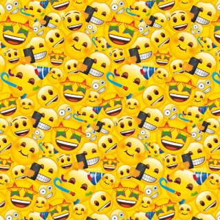 Emoji Wrapping Paper 3m