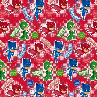 PJ Masks Wrapping Paper 3m