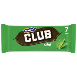 McVitie's Club Mint Biscuits 7pk