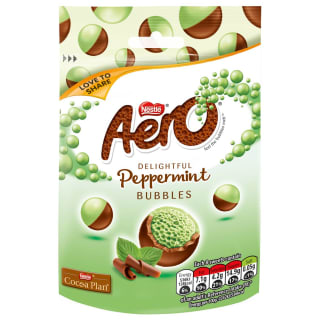Aero Peppermint Bubbles 80g