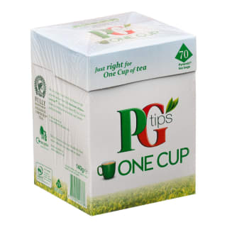 PG Tips One Cup 70s Tea Bags