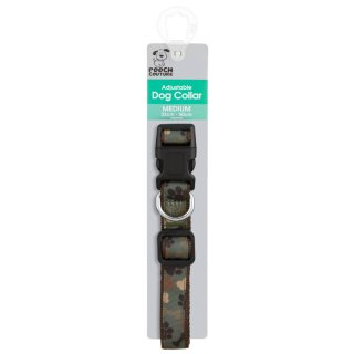 Pooch Couture Adjustable Dog Collar - Medium - Camouflage