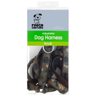 Pooch Couture Adjustable Dog Harness - Small - Camouflage